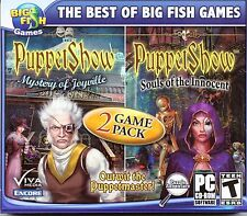 PUPPET SHOW Souls of the Innocent Hidden Object 2 PACK PC Game CD-ROM NEW