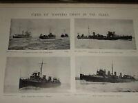 1897 Torpedo Gun Boot & Destroyers Hunter & Ranger