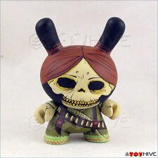 Kidrobot Dunny 2011 Azteca II Adelita figure skull bandit by Oscar Mar loose