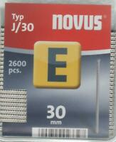 NOVUS Nägel E Typ J/30 mm á 2.600 Stück 044-0087