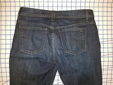 JOES denim 29 / 30  x 33 low rise boot cut bell bottom flare blue jeans