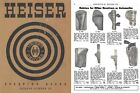Heiser 1950 Gun Holsters and Sporting Goods Catalog #50 (Colorado)