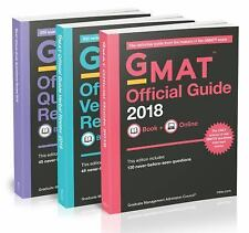 GMAT Official Guide 2018 Bundle: Books + Online (Paperback or Softback)