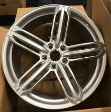 "22""rs6 silver b alloy wheels audi q7/vw tourag 5x130/porsche cayenne with tyres"