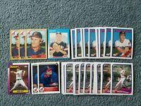 Rich Yett Baseball Card Mixed Lot of approx 38 cards