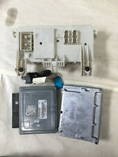 2006 FORD FOCUS ENGINE ECU SET, 2.0, PETROL, AUTO
