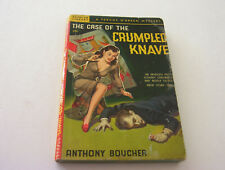 THE CASE OF THE CRUMPLED KNAVE  1949  ANTHONY BOUCHER   BELARSKI NIPPLE COVER
