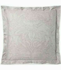 Ralph Lauren Euro Pillow Sham Fleur Du Roi / Gray & Silver 100% Cotton MSRP $130