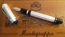 Montegrappa Cosmopolitan Chinese Fountain Pen Sterling Silver