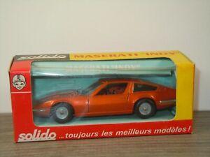 Maserati Indy - Solido 185 France 1:43 in Box *53410