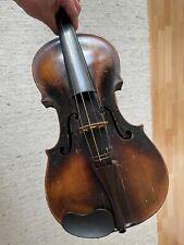 Sehr alte antike Geige Violine Innenschrift: Pietro Antonio dalla Costa