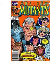 New Mutants #87 (1st cable appearance VF- Rob Liefield)