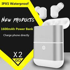 X2-TWS Wireless bluetooth Headset Waterproof Earphones Earbuds W/   !