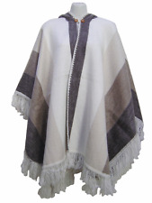 WHOLESALE LOT OF 10 SOFT & BEAUTIFUL ALPACA HOODED PONCHOS COTACACHI