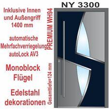 Haustür Haustüren WeltHaus NY3300 WH94 Premiumtür Aluminium mit Kunststoff Tür