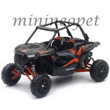 NEW RAY 57593 D POLARIS RZR XP 1000 DUNE BUGGY 4 WHEELS 1/18 BLACK / RED