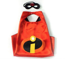 NEW The Incredibles Cape and Mask Set Halloween Birthday Party Pretend Play