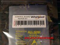 Control Board Repair Kit for  WPW10310240 W10310240 Whirlpool Maytag Kenmore