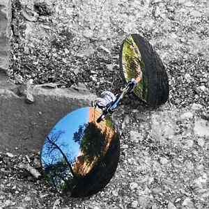 Morpheus Sonnenbrille, rahmenlose schwarze Klemmbrille, Matrix Style Gothic Punk
