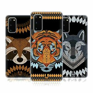 HEAD CASE DESIGNS ANIMAL LEAF MOSAIC SOFT GEL CASE FOR SAMSUNG PHONES 1