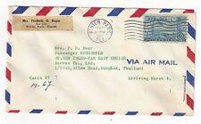 1959 Winter Park Florida Airmail to Bangkok Siam, Thailand, C36