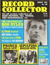 RECORD COLLECTOR Van Morrison BOB DYLAN Roy Wood MOVE Sepultura PRINCE Schulze
