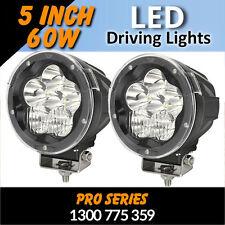 LED Driving Lights - 60 watt 5 inch SPOT/FLOOD Combo Professional Grade