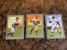 2020 Topps Series 2 Turkey Red 3 Card Lot Mays,Cobb, Gehrig