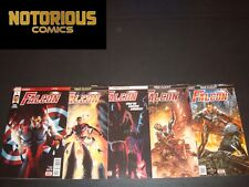 Falcon 1 2 3 4 5 Complete Comic Lot Run Set Marvel Legacy EXCELSIOR BIN