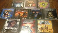 Big PC Game Lot (10 Games in Total)