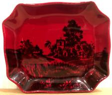 Royal Doulton Flambe - Small Pin Dish # 7926 - Made in England - Vintage & Rare!
