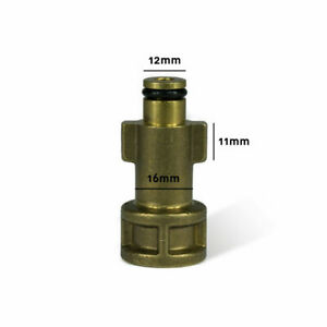 Bosch Aldi Workzone snow foam pressure washer adaptor adapter connector fitting