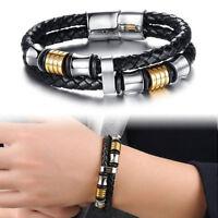 EG/_ 4Pcs Men/'s Evil Eyes Multi Layer Beads Adjustable Handmade Bracelets Cheap