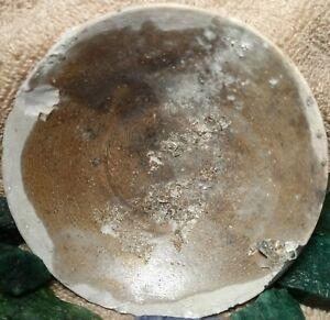 1822 TEK SING SHIPWRECK CARGO CHINESE BROWN GLAZE SHALLOW DISH