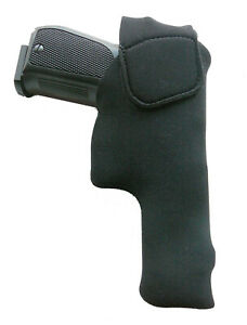 Pistolen-Innenholster Linkshänder (Inside-Holster) UNIVERSAL- OHNE CLIP -schwarz