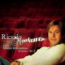 RICARDO MONTANER * Con la London Metropolitan Orchestra, Vol. 2 * New Sealed CD