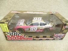 1998 Racing Champions 1:24 Gold NASCAR Jeff Burton Exide Ford Taurus #99