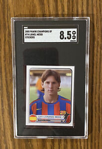 2005 Panini Champions Of Europe Stickers 1955-2005 #74 LIONEL MESSI 🔥