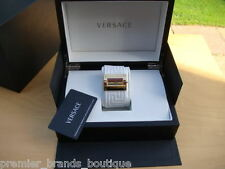 NEW GIANNI VERSACE WOMANS LADIES GOLD VIA GESU 12 MILANO RING BAG SHOES WATCH