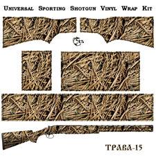 ES Camo Wrap TPABA Skin for Double Barrel Vertical Shotgun. 24 patterns for Gun