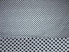 2 Yards Black and White Checks #21