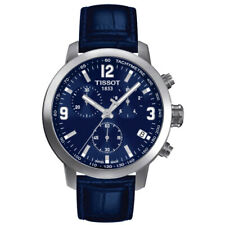 NEW TISSOT MENS SWISS PRC 200 CHRONOGRAPH WATCH - T0554171604700 - RRP £380