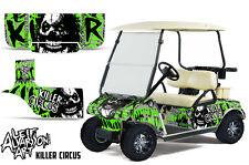 Club Car Golf Cart Wrap Graphics Vinyl Sticker Decal Kit 1983-2014 CIRCUS GREEN