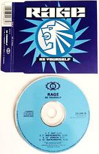 RAGE - Be Yourself (CD Single) (EX-/EX)
