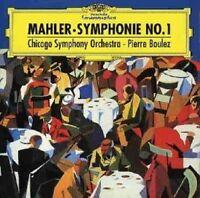 """PIERRE BOULEZ/CSO - GUSTAV MAHLER-SYMPHONIE NO.1 """"DER TITAN""""  CD  4 TRACKS  NEU"""