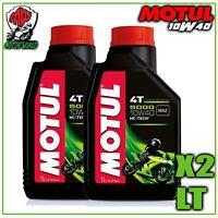 Olio Motore Moto Motul 5000 4T 10W40 10W-40 10W 40 API SG/SH/SJ/SL - 2 litri lt