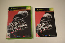 kof'02 kof 02 king of fighter 2002 be the figther fighter! xbox 1ère génération