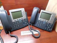(OR3)  2 x  CISCO  IP Phones  Model  CP-7962G