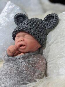 ~Lilly (boy)~ Full Body Silicone Ecoflex 15 Newborn baby boy by Helen Connors