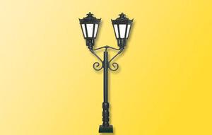 Viessmann 60731 H0 Park Lanterns Eno, Black, LED Warm White # New IN Boxed#